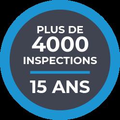 Nombre d'inspections